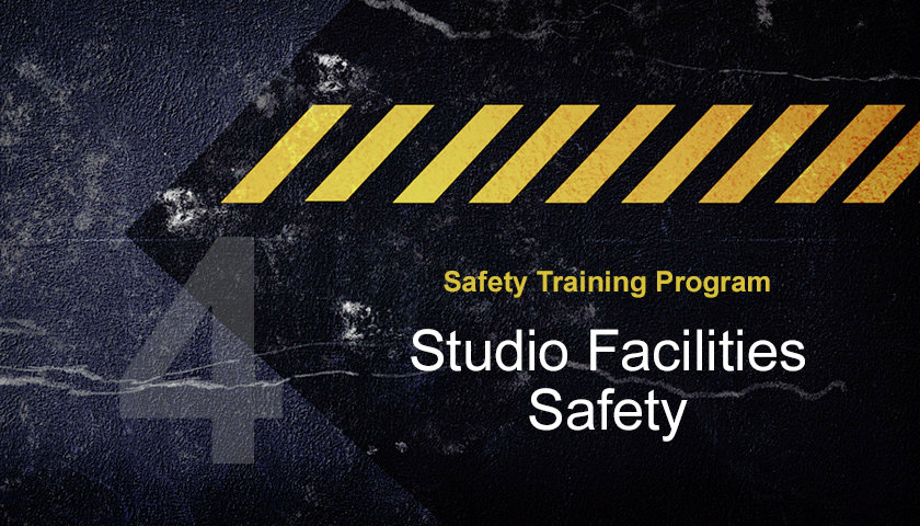 Studio-Facilities-Safety